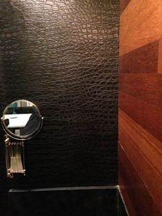 parede lavabo em couro - Pesquisa Google