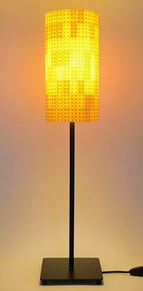 Brighten your room by building your own Lego lamp. | 21 Ways To Upcycle Your Lego