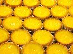 Hong Kong Style Egg Tarts ♥ Dessert