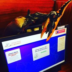 #Dinosaurs and library computers may not make the best team, but #dinosaurs and #SummerReadingClubs will be a winning combo.  They're headed your way June 6 for the start of the our summer reading club programs and we've got tons of #DinoFun to be had from #PaleontologySchool to #crafts. #AbilenePublicLibrary #Pterodactyl #Kids #Youth #Children #Teens #Fun #Reading #Activities #Events #Free #Prizes #Community #Free