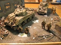 """Great """"How To"""" on the basics of Diorama making."""