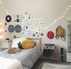 The perfect teen girl bedroom. Clean, simple but totally on-trend