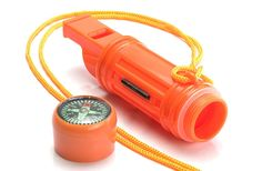 SE CCH5-1 5-IN-1 Survival Whistle in Orange ** Check out the image by visiting the link.