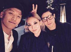 BIGBANGのV.I、2NE1のCL&DJスクリレックス