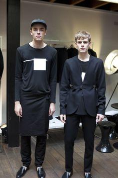 Model wearing Lee Roach, SS14 & Lee Roach at LONDON show ROOMS Paris