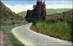 Laguna Canyon Road, 1916