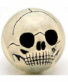 @Overstock - Intimidate the competition with this hand-painted skull bowling ball  This novelty bowling ball features clear ball technology for the serious bowler  Ball is expertly hand-painted in pearl colorhttp://www.overstock.com/Sports-Toys/Cranium-Pearl-Bowling-Ball/2679830/product.html?CID=214117 $103.99