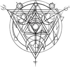 Alchemy Mystery / Sacred Geometry <3 - Pinned by The Mystic's Emporium on Etsy: