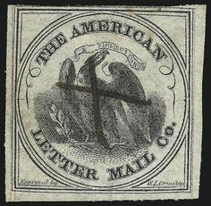 American Letter Mail Co., Scott No. 5L2, issued August 1844