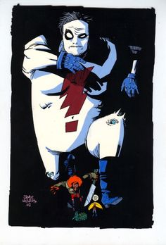 Madman by Jamie Hewlett