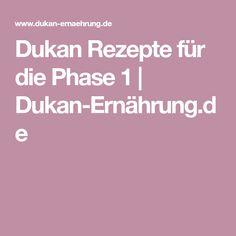 Dukan Rezepte für die Phase 1   Dukan-Ernährung.de
