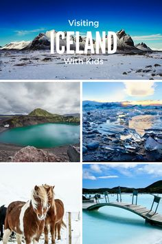 Why we want to visit Iceland with Kids on our next family vacation! From cure horses, to enormous geisers, to active volcanos, to the blue lagoon!