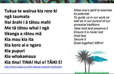 Resources: Karakia Teaching, Culture, Maori, Pray, Education, Onderwijs, Learning, Tutorials
