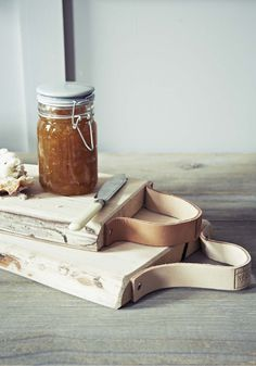 find reclaimed wood and old leather belts to reCreate.