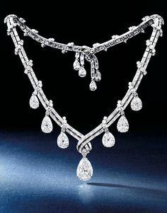 Diamond Necklace, Bulgari, circa 1950s