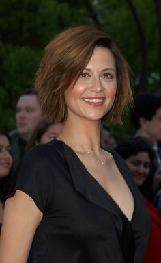 Catherine Bell Hair.really like this haircut