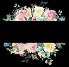 Floral watercolor border Watercolor Border, Floral Watercolor, Free Digital Scrapbooking, Tapestry, Decor, Hanging Tapestry, Tapestries, Decoration, Decorating