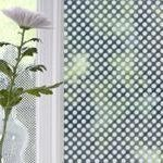 """Brume graphic dots window film from brume.com, £45 for 59"""" x 39.4"""""""