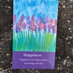 #heartwhisper  card for today happiness  Are you choosing happiness today?