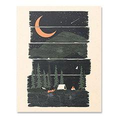 Wilderness Camping Lover Art Print Hiking Trekking Kayaki... https://www.amazon.com/dp/B077V3DKS2/ref=cm_sw_r_pi_dp_x_Is3pBbNRBD1BC