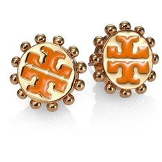 At first I thought these were Power Ts, then I saw it was Tory Burch (Winslow Logo Stud Earrings) ughhh... However, now I'm thinking that I need to make Power T earrings like this.
