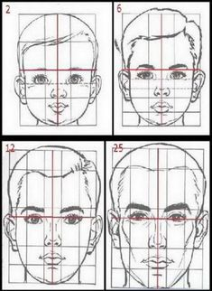 Drawing tips proportions ; drawing tips for b. Drawing Heads, Human Drawing, Painting & Drawing, Drawing Faces, Drawing Lessons, Drawing Techniques, Drawing Tips, Basic Drawing, Art Drawings Sketches