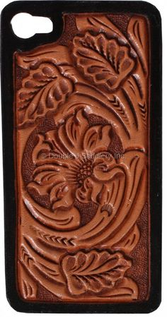 Floral Tooled iPhone Case - HPC30
