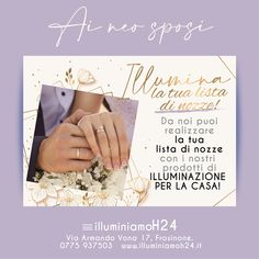 Per la vostra lista nozze luminosa venite a trovarci, vi aspettiamo!!👩❤️👨💡👩❤️👨👩❤️👨 #matrimonio #nozze #sposi #cerimonia #listaregali #illuminazione #led #idearegalo