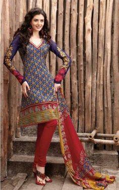 .Cotton salwar kameez...... cotton ..colors..in <3