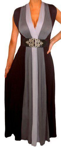Funfash Plus Size Dress Black Heather Gray Long New Women... https://www.amazon.com/dp/B00HVM3EUS/ref=cm_sw_r_pi_dp_aTiFxbGZDS0RS