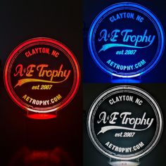Awesome LED signs available at A&E Trophy.  Call 919-553-1711 to learn more!