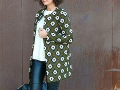 Veste Burda Couture facile automne hiver 2015                              …