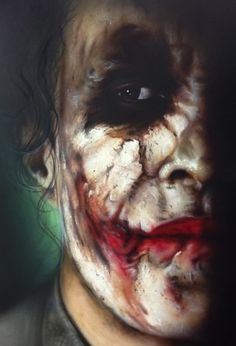☆ Heath Ledger / The Joker ☆ Gotham Joker, Heath Ledger Joker, Joker And Harley Quinn, Joker Batman, Joker Hd Wallpaper, Joker Wallpapers, Joker Drawings, Joker Images, Joker Makeup