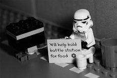 Homeless Stormtrooper