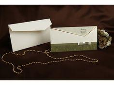Invitación de boda 50628 #bodastyle.com #invitaciondeboda #bodastyle