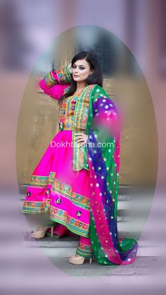 #afghan #dress