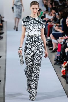 Oscar de la Renta 2013 for disembarking your yacht for an afternoon of shopping!