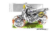 BMW R1200GS Scrambler Concept from Nicolas Petit