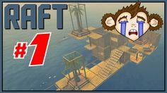 Raft | # 1 Learning the basics through dying | MonkeyboyGamer