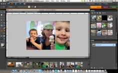 How I make easy photo collages.