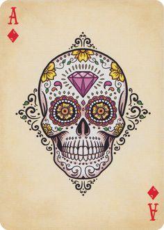 Bicycle® Dia de Los Muertos playing cards