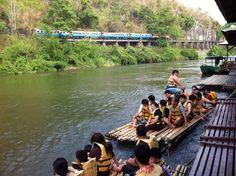 5 ที่พักกาญจนบุรี หนีร้อนไปนอนริมน้ำสไตล์ครอบครัว