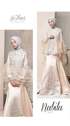 Dress Hijab Batik Beautiful 65 New Ideas Hijab Prom Dress, Hijab Gown, Hijab Style Dress, Modest Fashion Hijab, Abaya Fashion, Fashion Dresses, Maxi Dresses, Muslim Gown, Kebaya Muslim