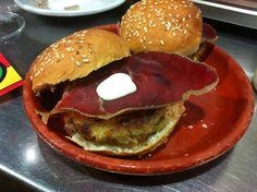 hamburguesa rustica, de Monica Blanco