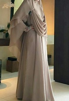 Nice hijab Hijab Style, Hijab Chic, Hijab Gown, Hijab Outfit, Abaya Fashion, Modest Fashion, Muslim Gown, Moslem Fashion, Simple Hijab