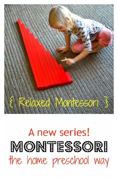 Find out how we use Montessori in our home preschool setting in both traditional and non-traditional ways in this new series -- { Relaxed Montessori }