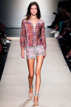 Hippie chic look by Isabel Marant