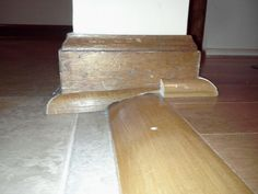 A Transitional Door Threshold Is The Best Way To Even Out