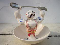 'Mr Strong Man Bowl' by Katherine Morton.