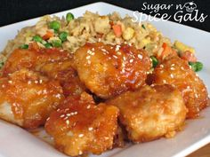 Spice Gals: Amazing Sweet and Sour Chicken